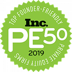 Inc. PE50 Top Founder-Friendly Private Equity Firms, 2019